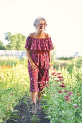 berry culotte jumpsuit