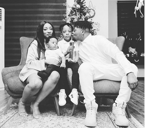 Olamide and Family
