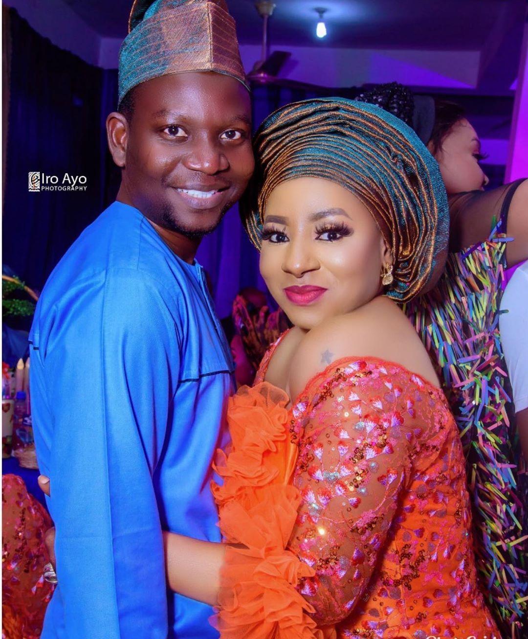 Mide Martins and Husband, Afeez Owo