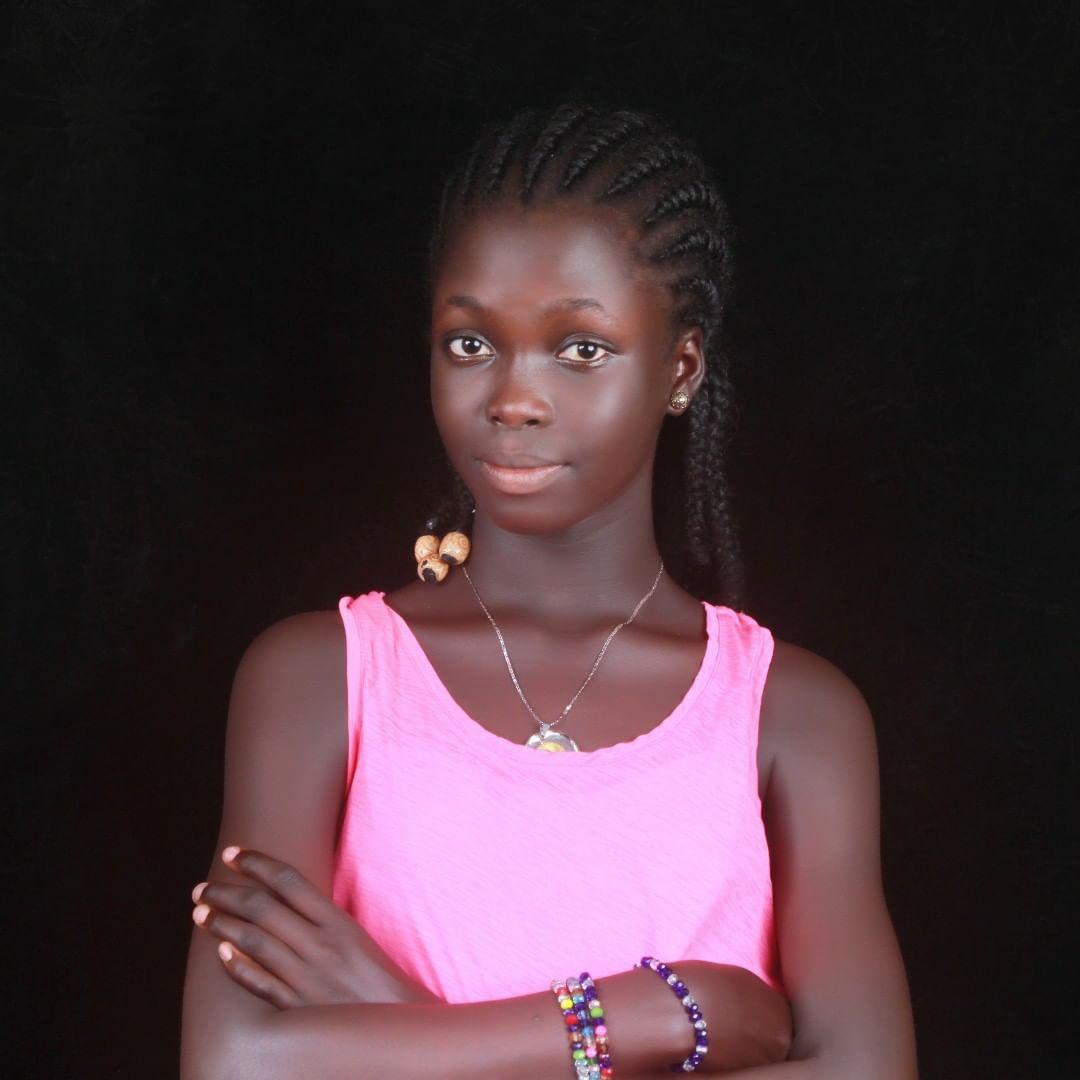 Toyin Abraham's step daughter, Temitope Ajeyemi