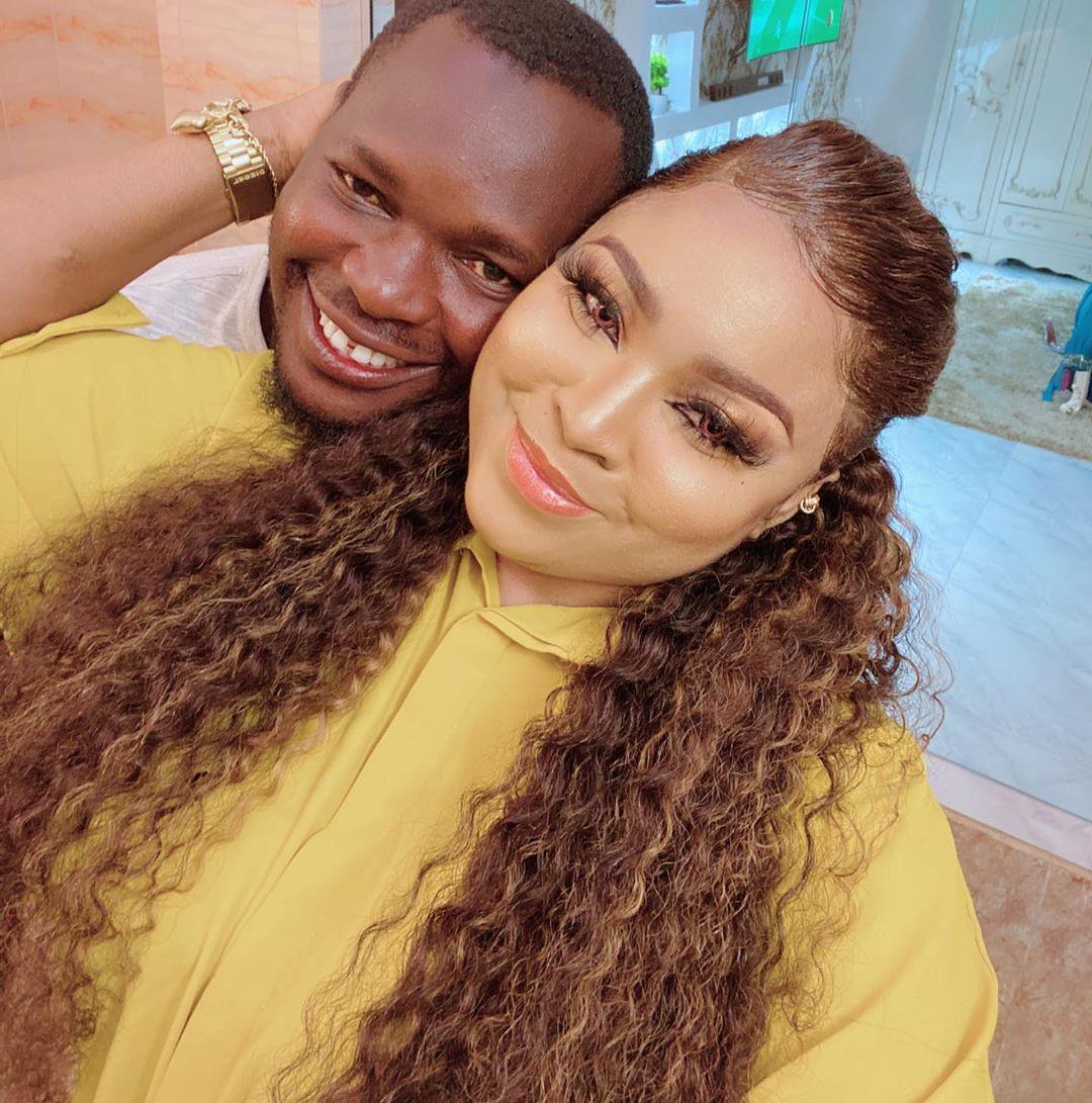 Bimbo Afolayan and Husband Okiki Afolayan