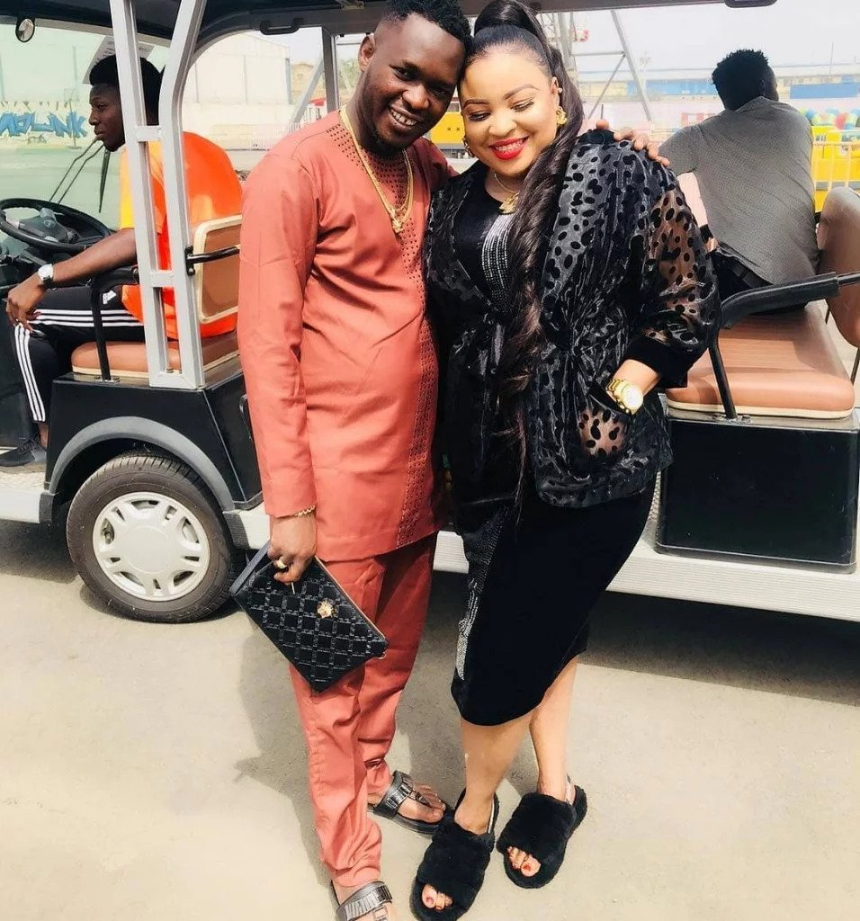 Bimbo Afolayan and Husband Okiki Afolayan