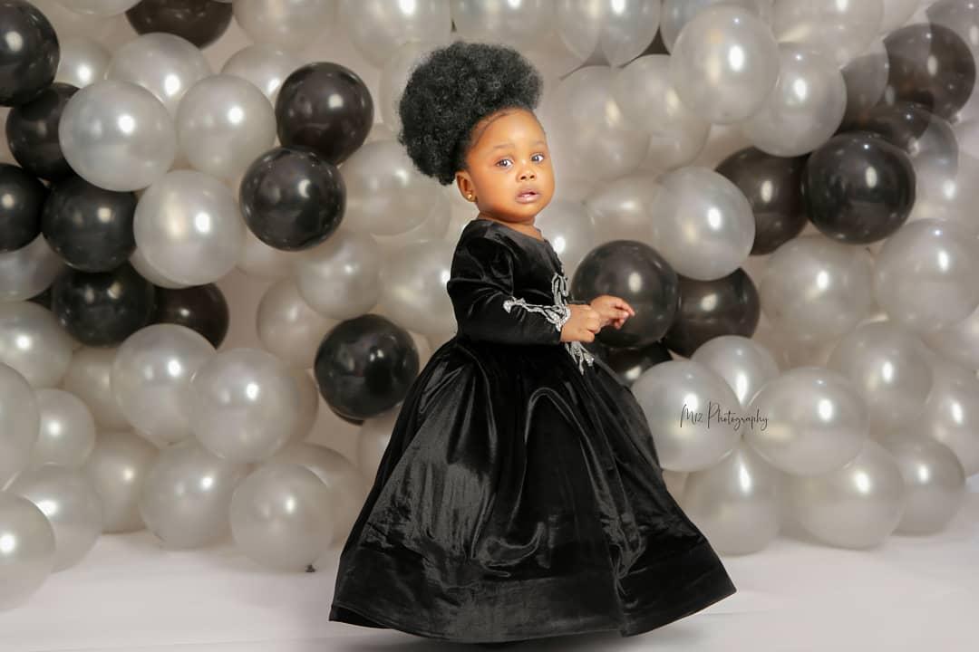 Ronke Odusanya's daughter