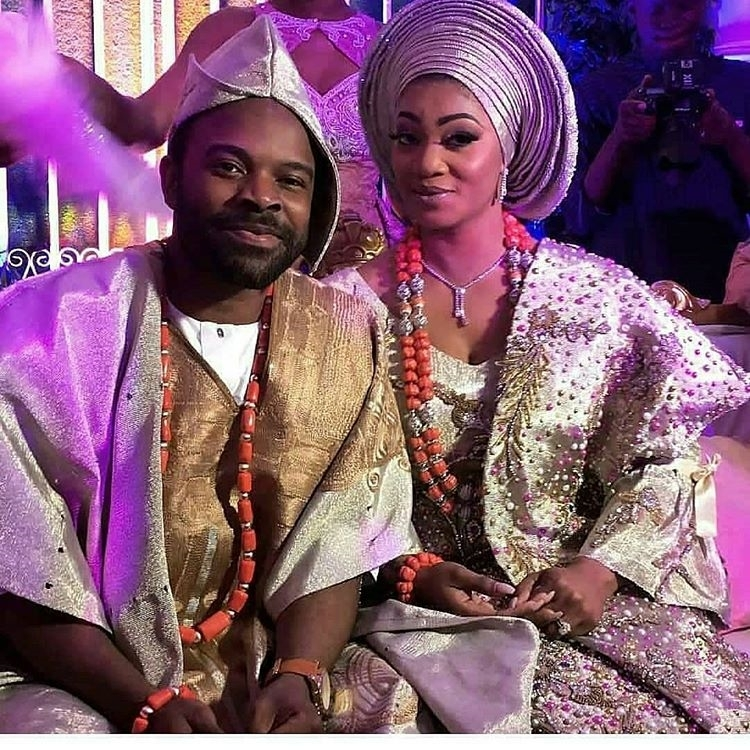 Gabriel Afolayan and Adebanke