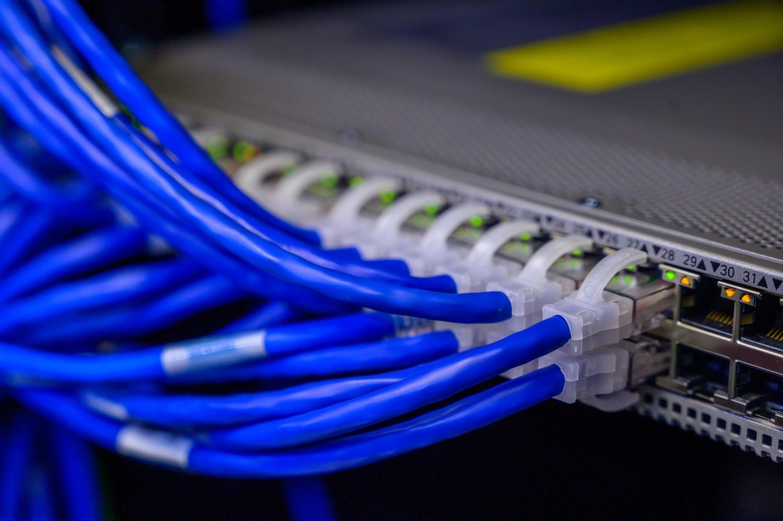 Ethernet networking optical fiber