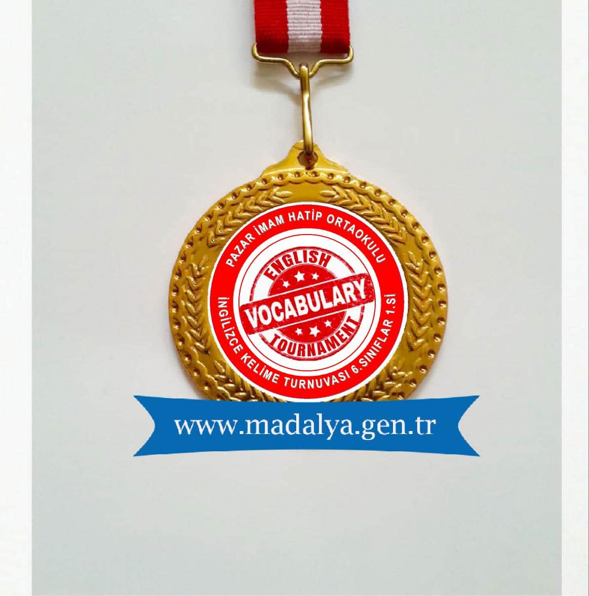 ingilizce başarı madalyası