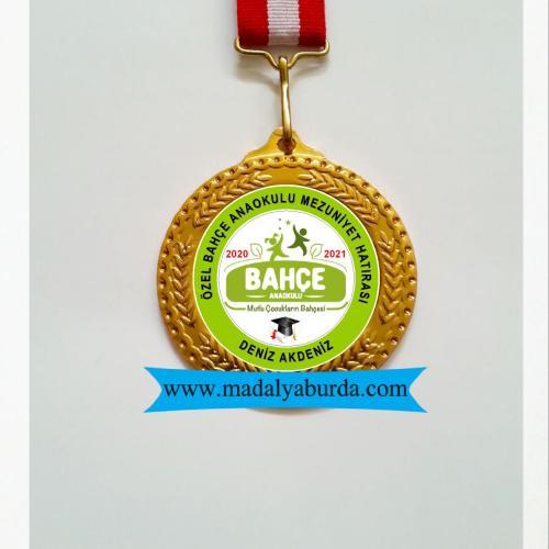 anaokulu mezuniyet madalyası