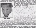 Celebrity Prediction: Mike Tyson