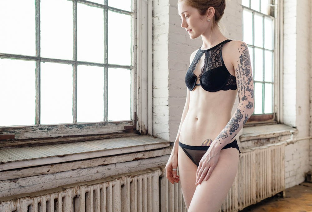 The Ultimate Black Lingerie Set: Mixing + Matching The Barrett + 8624 Kits