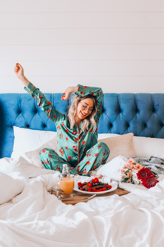 f74468cef6d6e4 Since I've been known to wear pjs a lot these days, I wanted to do a quick  post about some really cute & cozy summer pj sets that I've found lately.