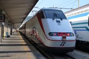 ベネチア→トリエステ電車