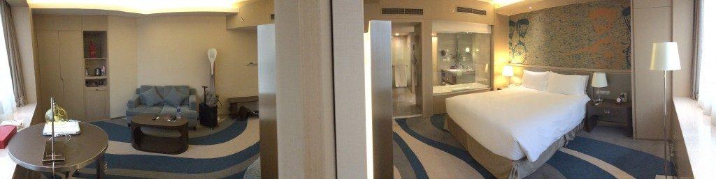 ソフィテルハイランドホテル上海客室