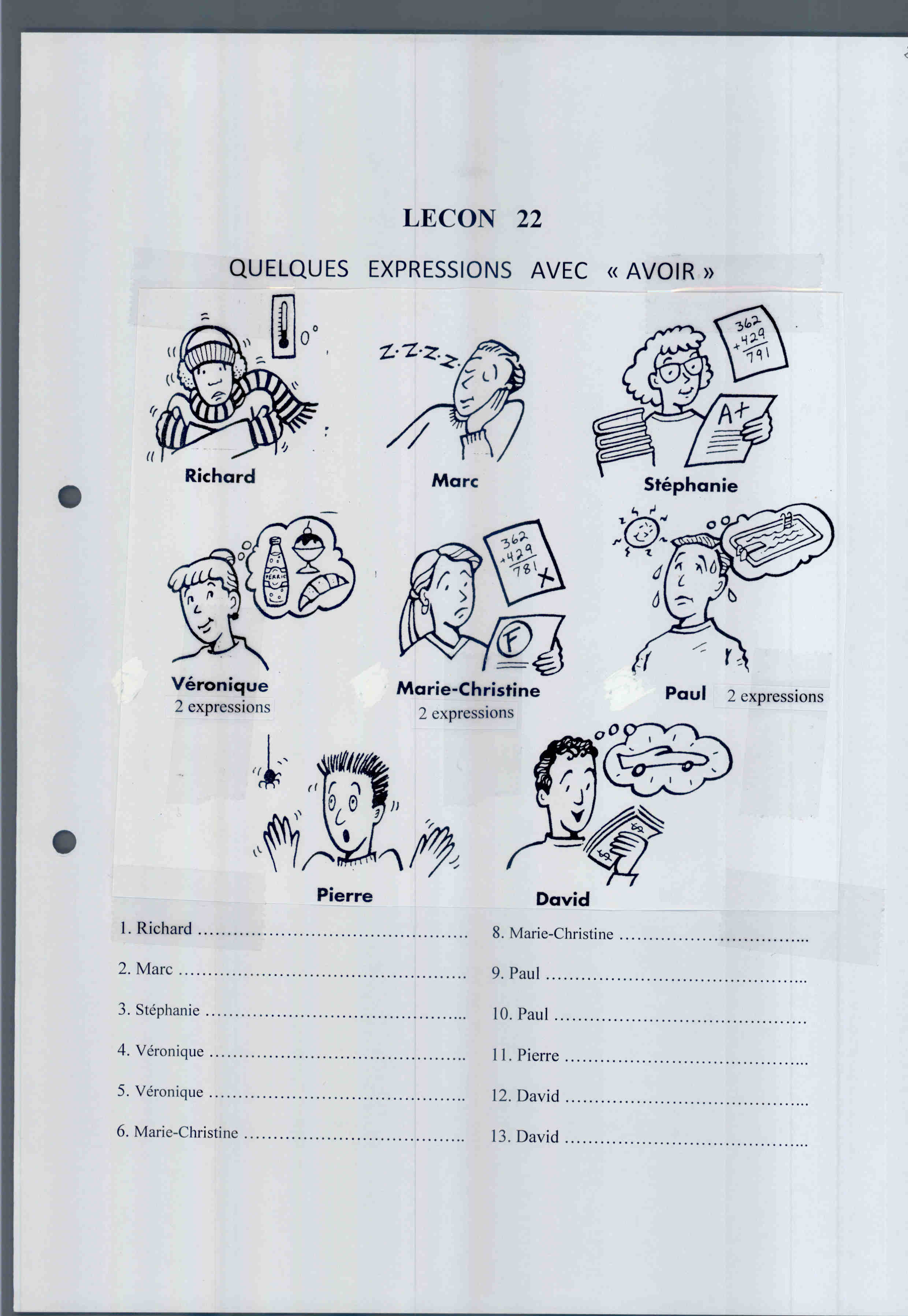 8th Grade French Ii