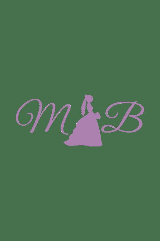 Marys Princess 4Q383 Dress Strapless Organza Pick Up Skirt