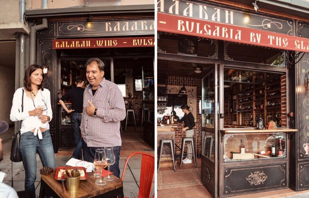 Balaban Wine Bar Sofia Bulgaria