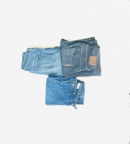 désencombrer ma garde-robe les jeans