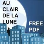 Au Clair de la Lune Free pdf image
