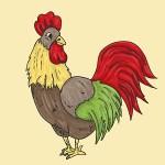 L'Oiseau et L'Enfant trivia answer rooster pic