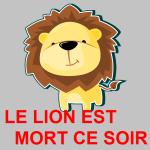 Le Lion Est Mort Ce Soir blog pic fsv #12