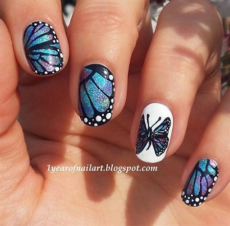 Butterfly Designs Nail 2018