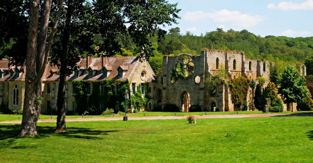 medieval abbey in France