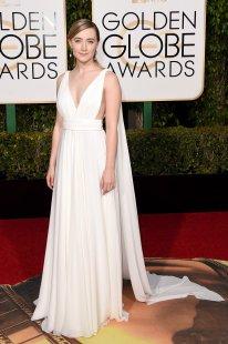 Saoirse Ronan: vestido de Yves Saint Laurent Couture y joyas de Chopard