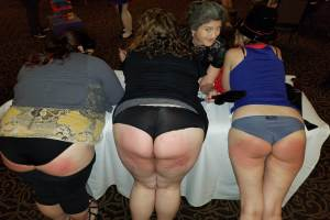 Drlectr, Lady Alice, spanking parties, kinky parties, Crimson Moon, MadameSamanthaB, spanking naughty girls, girls spanking girls, spanking party