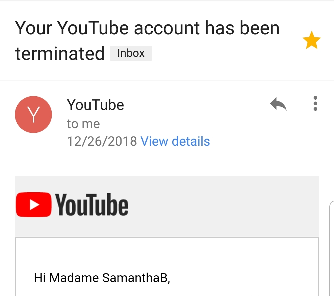 wrongly deleted YouTube channel, YouTube deleted my account, SESTA-FOSTA law,