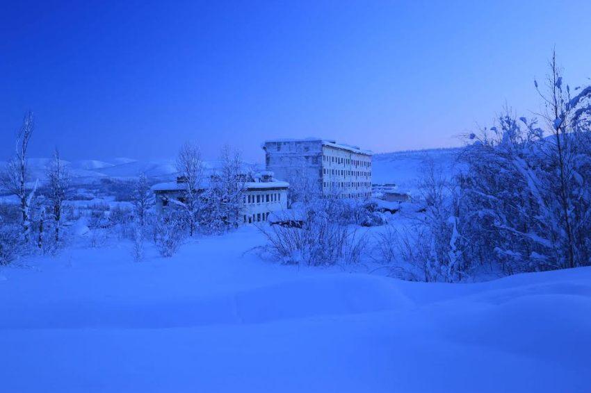 """Marie de la ville Bauge """"Голубой час"""" на Севере России, фото"""