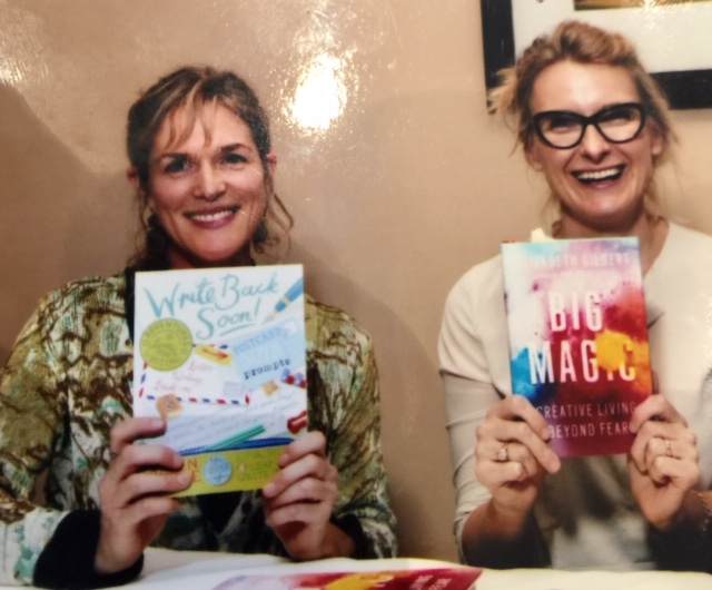 Karen Benke and Elisabeth Gilbert Book Signing