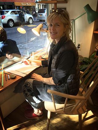 Karen Benke Writing in New York Madame Success
