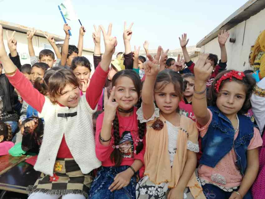 Inspiring Story of Ghaida-Hussein_School-Founder-for-Syrian-Refugee-Kids_Supported-by_Save-The-Children_Interview-MadameSuccess