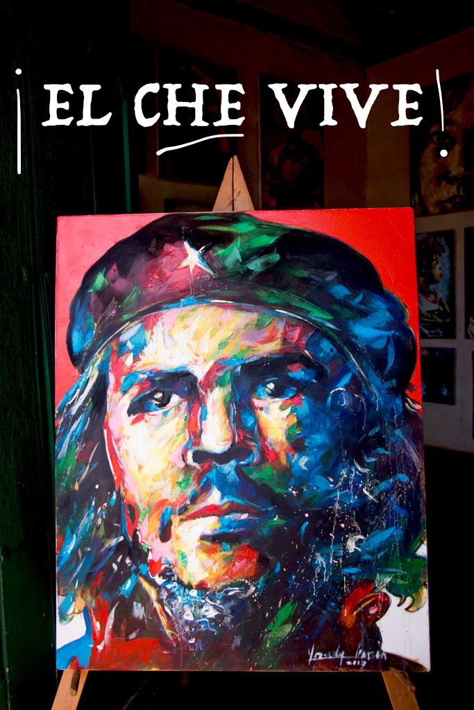 Blog Madame Voyage El Che Peinture Trinidad