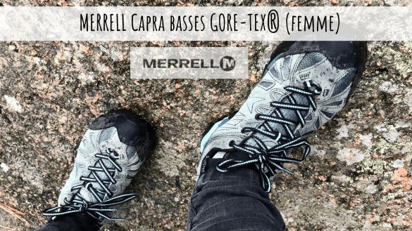 TEST MERRELL Capra basses GORE-TEX® (femme)
