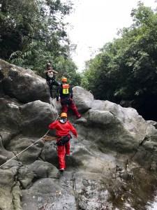 activités sportives de plein air canyoning ricaric île de la réunion blog madame voyage