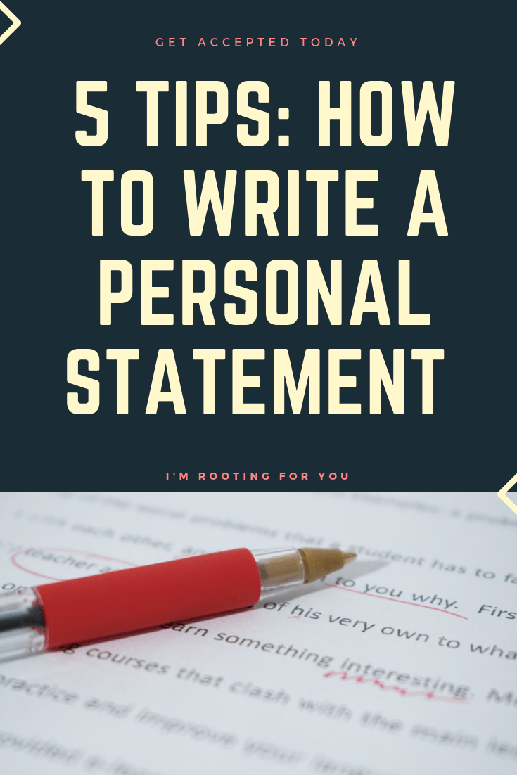TIPS _HOW TO WRIE A PERSONAL STATEMNT 2-2