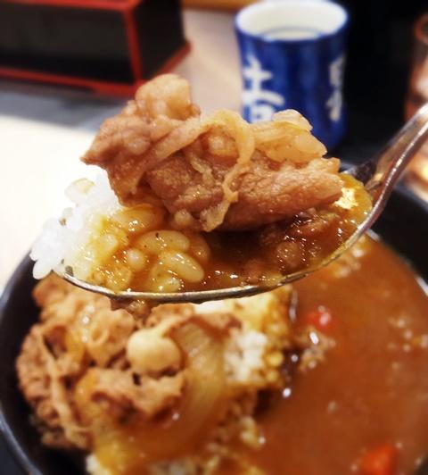 Curry Rice in Yoshinoya