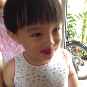 Jee Minho dalam Lipstick Buah Naga