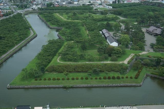 Goryokaku Park berbentuk Senjata Ninja