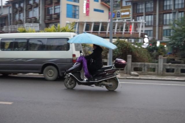Molis pake payung