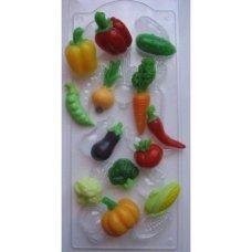 """Пластиковая форма """"Овощное ассорти"""" (планшетка)"""