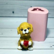 Собачка с сердцем