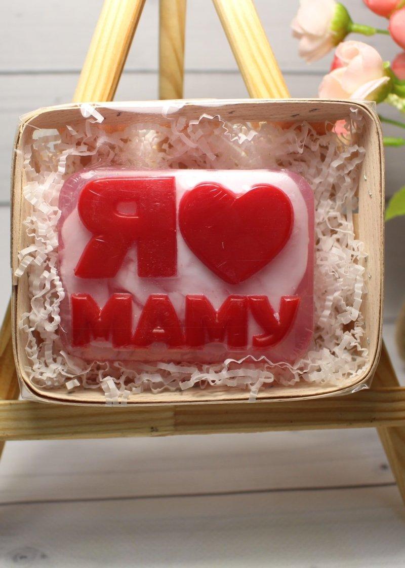 Мыло Я люблю маму в коробке