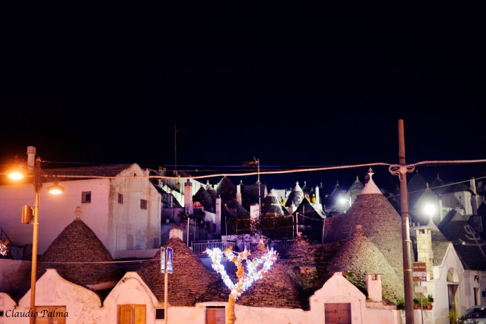 Alberobello by night