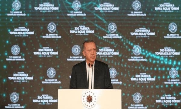 يفتتح 300 مصنع في غازي عنتاب 600x362 - أردوغان يفتتح 300 مصنع في غازي عنتاب - Mada Post