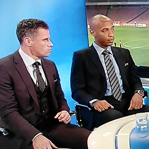 Thierry Henry reaction is priceless