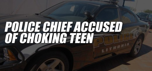 Police Chief accused of choking teen