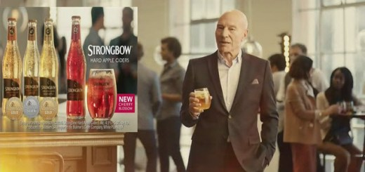 Strongbow Hard Apple Ciders & Patrick Stewart 2016