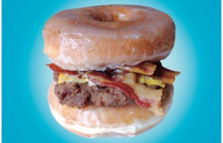 donut met vlees