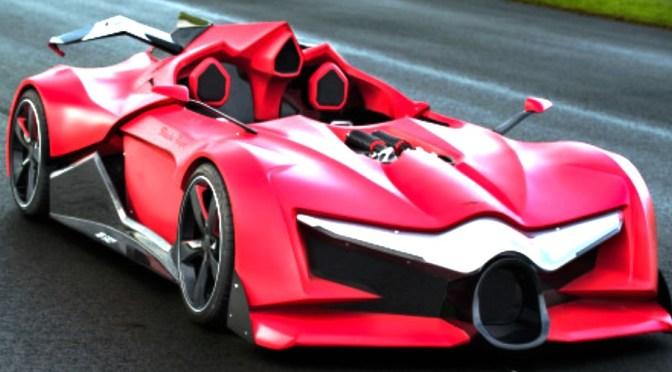 Sbarro! Monsterlijke Raceauto